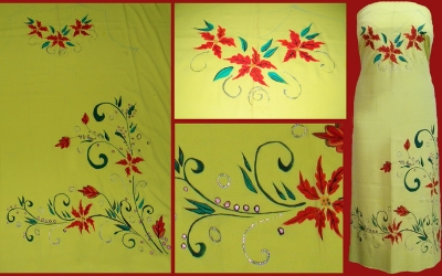 personalized fabric – Hand painting on fabric and canvas